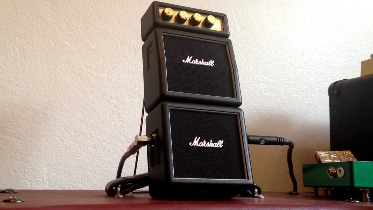 Marshall Ms 4 : marshall ms 4 micro stack modified for external cabinet youtube ~ Hamham.info Haus und Dekorationen