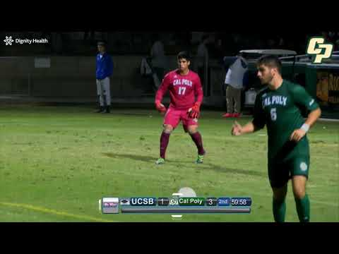17 Jason Hernandez Caceres CalPoly Freshman Goalkeeper Highlights