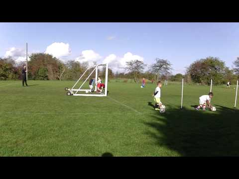 Harrison and Johan Tiny Tacklers Training 01 November 2014