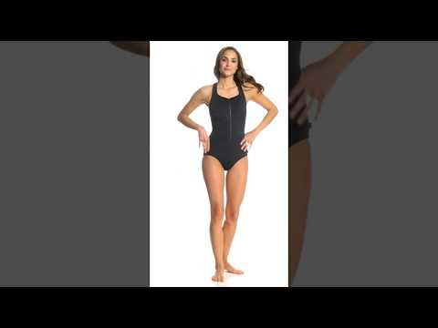 reebok-flying-high-women's-front-zip-high-neck-chlorine-resistant-one-piece...-|-swimoutlet.com