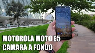 Motorola Moto E5 Camara a fondo