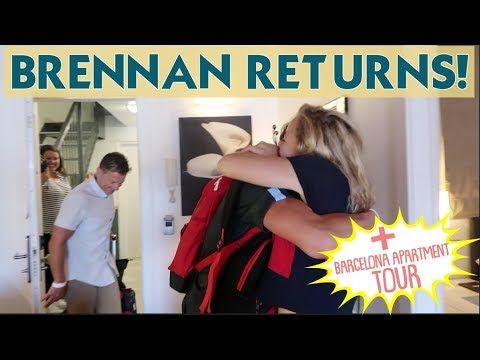 IT'S REUNITING WITH BRENNAN+ OUR BARCELONA APARTMENT TOUR