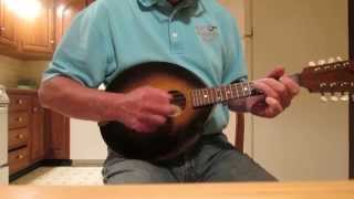 """Midnight on The Water"" on my Flatiron Mandolin"