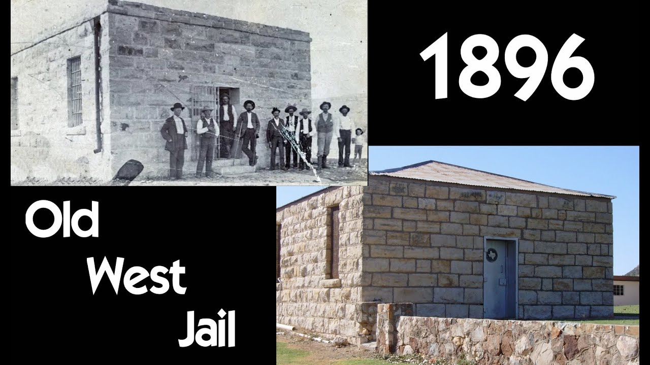 1896 Old West Jail - Gail, Texas