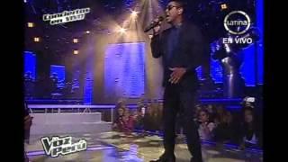 "Anna Carina canta junto a Kalimba ""Hipocrecía"", en la Voz Perú"
