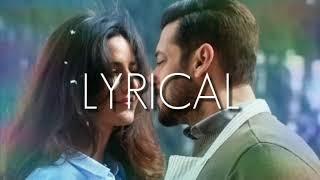 Dil diyan gallan lyrics || karaoke || Atif aslam || Tiger zinda hai