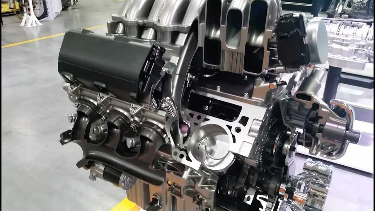 New 6.6-liter V8 gas engine on 2020 Silverado HD - YouTube
