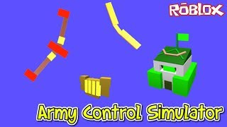 🤺🏹 Lusiarianos!! + NUEVOS CODES 🏹🤺 /#2/ROBLOX/Army Control Simulator/jurasek05