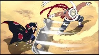 【AMV】Naruto - Sasuke vs Killer Bee - Impossible