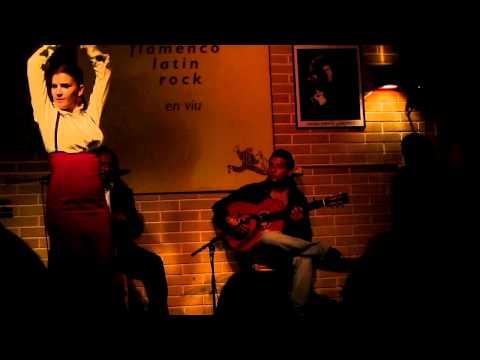 Flamenco at JazzSi Club Taller De Músics - BARCELONA