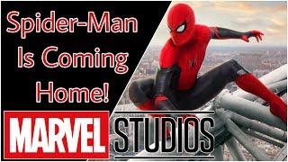 Let's Talk: Spider-Man Back in the Marvel Cinematic Universe
