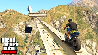 OVER THE CANYON ! GTA 5 ONLINE