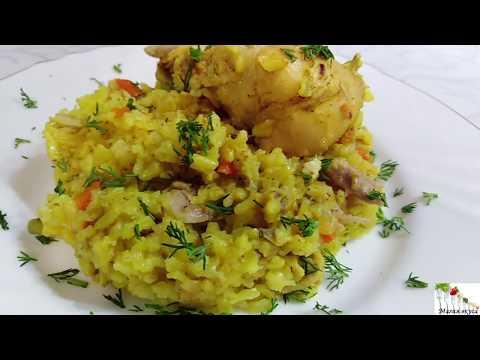 Ужин без хлопот - курица с рисом и карри в мультиварке. Простое и вкусное блюдо