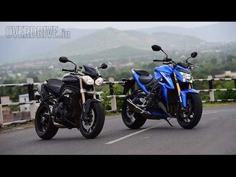Suzuki Gsx S1000 Vs Triumph Speed Triple By Overdrive Youtube