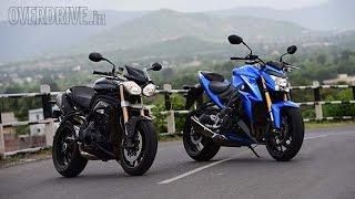 Suzuki GSX-S1000 vs Triumph Speed Triple by OVERDRIVE