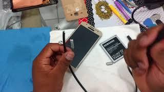 Samsung j5 não liga  RESOLVIDO ( bateria sem carga ) como ativar sem fonte de bancada