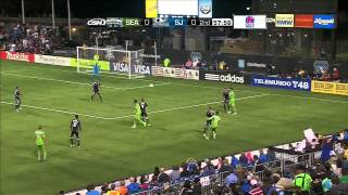 HIGHLIGHTS: San Jose Earthquakes vs Seattle Sounders