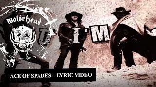 Motörhead – Ace Of Spades (Lyrics Video)