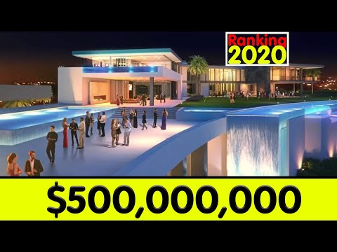 TOP 10 MOST EXPENSIVE HOMES 2020