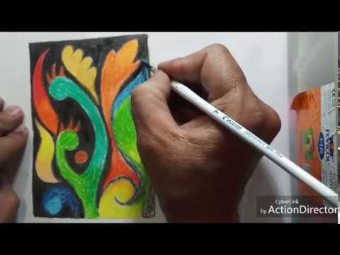 Modern Arts   oil pastels colors   tutorial   Daughter of an Artist  