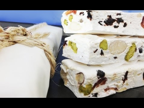 Nougat Candy Recipe How To Cook That by Ann Reardon
