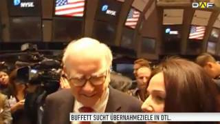 "Warren Buffett steht auf ""Good old Germany"""