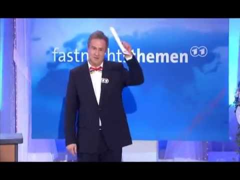 Lars Reichow als Tagesthemensprecher bei Mainz bleibt Mainz, wie es singt und lacht 2013