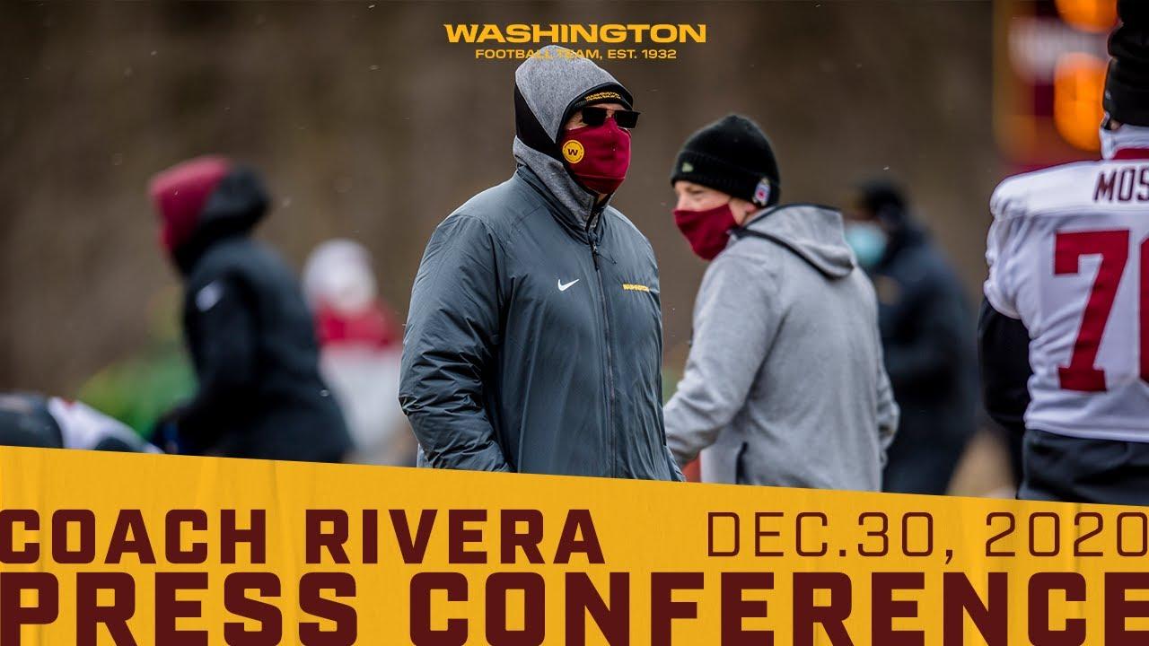 Interview: Washington Football Coach Ron Rivera