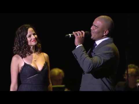 Mandy Gonzalez & Chris Jackson dazzle with When You're Home by Lin-Manuel Miranda - Amigos de Jesus