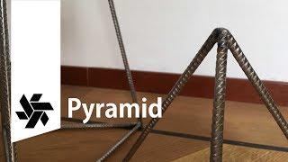 Rebar Pyramids // Welding Practice