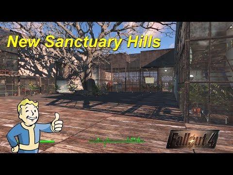 Fallout 4: Settlement Building: New Sanctuary Hills (NO MODS)