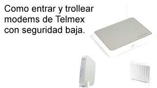 Video Cómo Hackear un modem infinitum Telmex y saber contraseña download MP3, 3GP, MP4, WEBM, AVI, FLV Juli 2018