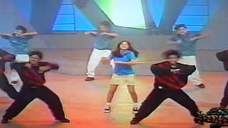 kidz@work dance to 'baby boy' with katya santos and pola peralejos