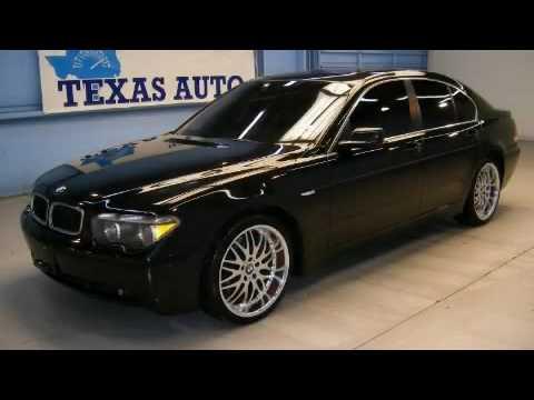 Used BMW I WNavigation Dallas TX YouTube - 2002 bmw 745i price