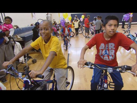 Thumbnail: Watch These Children in Need Get Surprised With Free Bicycles