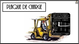 PLAQUE DE CHARGE (CACES)