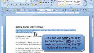 Getting Started with TextAloud 3 (2011)