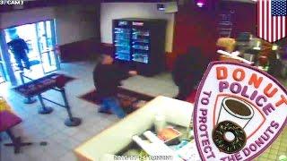 Полиция обезвредила грабителя лавки пончиков