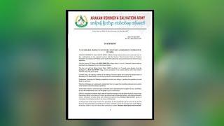 ARAKAN ROHINGYA SALVATION ARMY STATEMENT