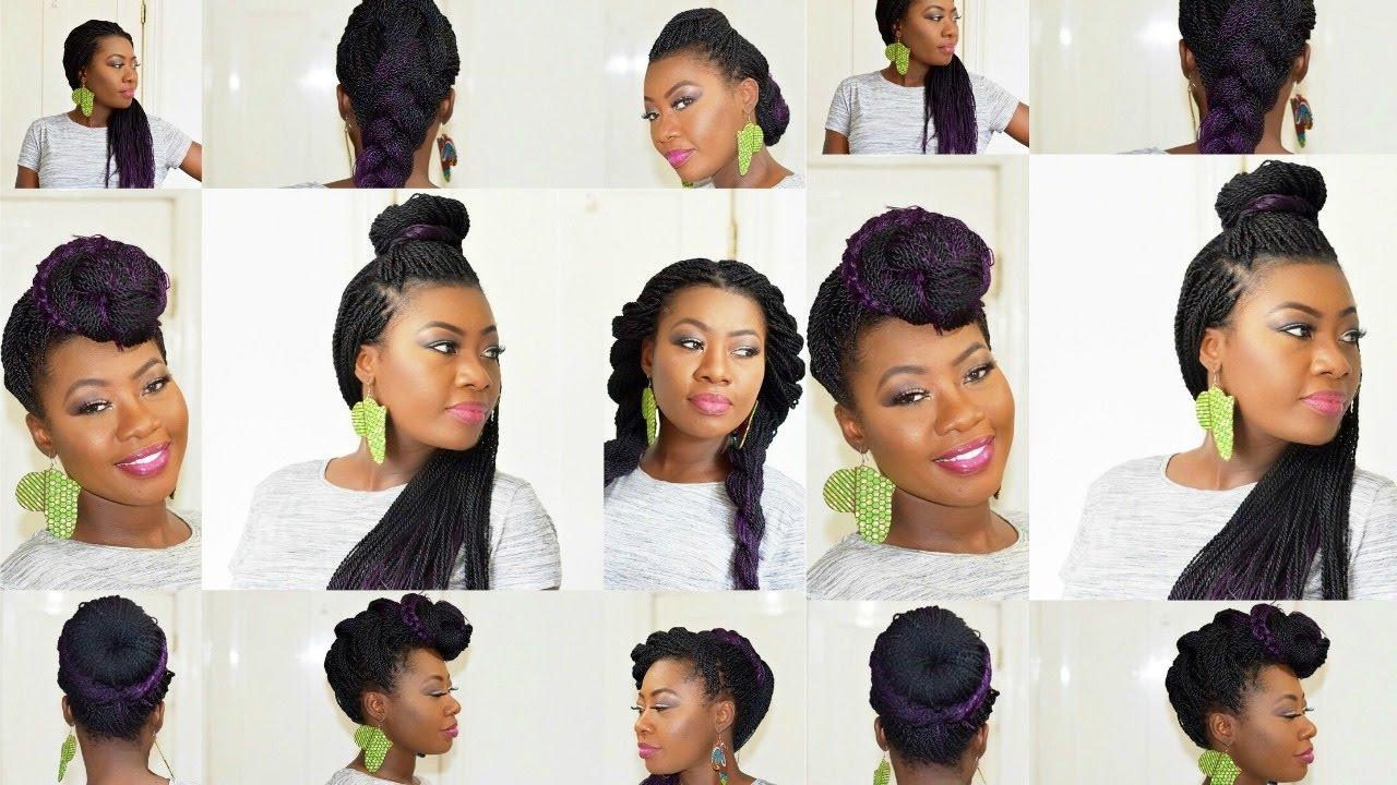How To Style Senegalese Twist In A