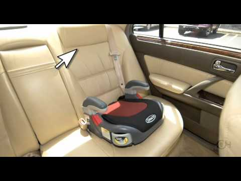 Video sobre seguridad con un asiento elevado the children for Silla para coche nino 4 anos