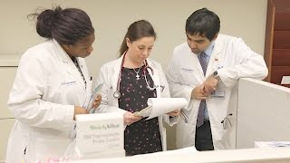 Student-run evening clinic offers free primary medical care