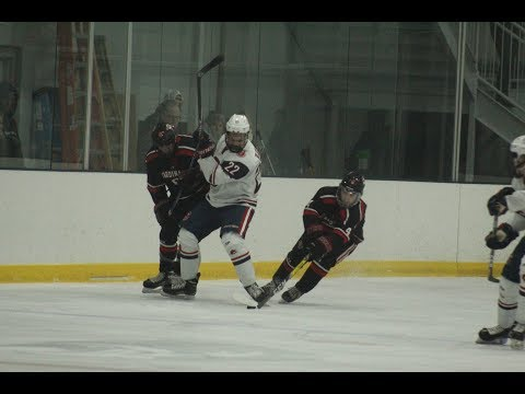 Noah Jankowski scores shorthanded goal for Central Catholic hockey vs. Pope Francis