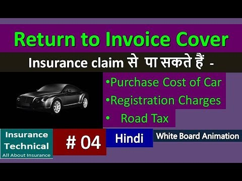Return To Invoice Cover In Car Insurance Policy Youtube