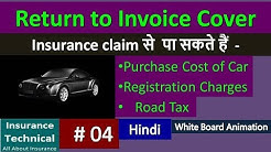 Return to invoice cover in car Insurance policy