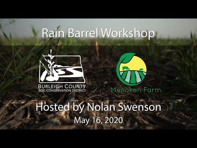 Rain Barrel Workshop 051620 06