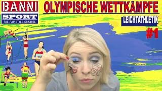Leichtathletik Athletics Atletismo #1 - Olympic Wettkampf - Original Banni Sport Fan Style & Make-up