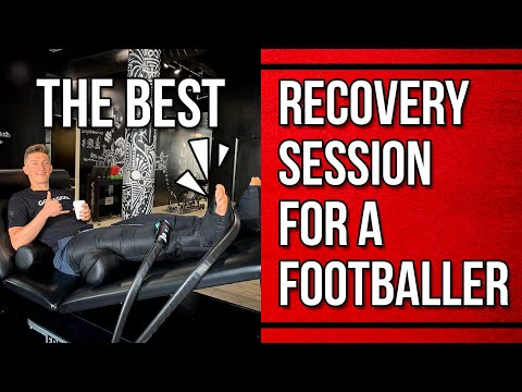 The Best Recovery Session for a Footballer | Foam Rolling and Stretching