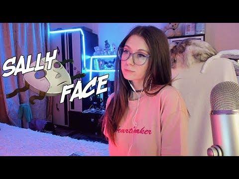 [ASMR] ШЕПОТ И УЖАСТИКИ - САЛЛИ-УБИЙЦА? - Sally Face 1 Ep  #3