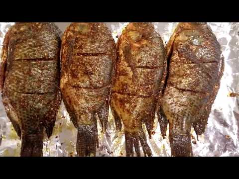 HOW TO MARINATE AND GRILL TILAPIA FISH